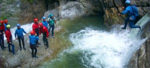 Canyoning bei Topp-Event