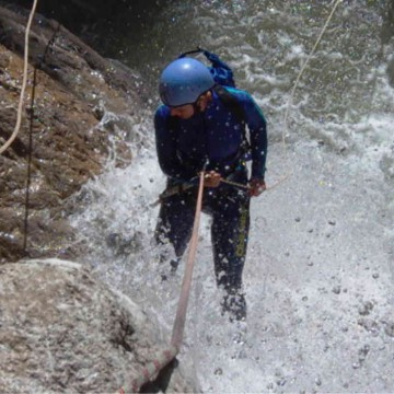 Canyoning steile Meile
